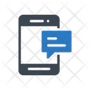 Mobile Text Icon