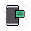 Mobile Text Message Icon