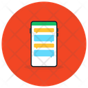 Mobile Chat App Mobile Message Mobile Text Icon