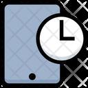 Mobile Time Mobile Clock Mobile Icon