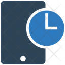 Mobile Time Icon