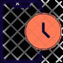 Mobile Time Icon
