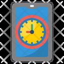 Mobile Time Mobile Smartphone Icon