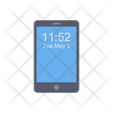 Mobile Time Mobile Date Icon