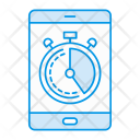 Mobile Timer Stopwatch Icon