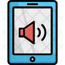 Mobile Tone Mobile Volume Speaker Icon