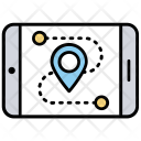 Mobile Tracker Icon