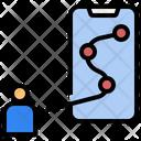 Mobile Tracker Phone Tracker Mobile Navigation Icon