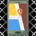 Mobile Tracker App Mobile Location Gps Icon