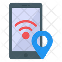 Mobile Location Mobile Gps Mobile Tracking Icon