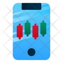 Mobile Trading Smartphone Application Icon
