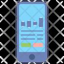 Mobile Trading App Exchange Icon