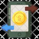 Mobile Transaction Online Transaction Ebanking Icon