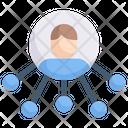 Internet Marketing Network Online Icon