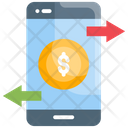 Mobile Transaction Banking Transaction Icon