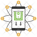 Mobile Transactions Icon