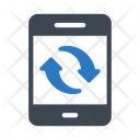 Mobile Transfer Share Icon