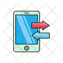 Mobile Transfer Phone Icon