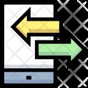 Mobile Transfer Mobile Transaction Icon