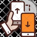 Mobile Transfer Data Trasnfer Transfer Icon