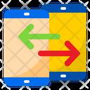 Mobile Transfer Online Transfer Smartphone Icon