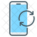 Mobile Update Mobile Reload Mobile Sync Icon