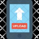Mobile Uploading Icon