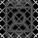 Smartphone User Profile Login Profile Icon