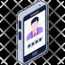 Online User Mobile User Digital Media Icon