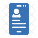 Mobile User User Account Icon