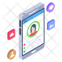 Usability Analyst Mobile User Ui Icon