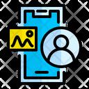 Mobile User User Profile Icon