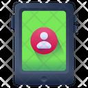 Online User Mobile User Mobile Profile Icon
