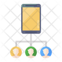 Mobile Network Mobile Users Smartphone Users Icon