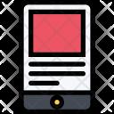 Mobile Version Design Icon