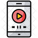 Online Video Video Tutorial Mobile Video Icon