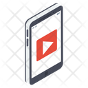 Mobile Video Video App Video Streaming Icon