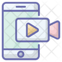 Mobile Video Icon