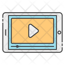 Mobile App Video App Video Player Icon