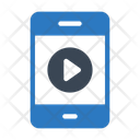Video Mobile Phone Icon