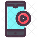 Internet Technology Mobile Video Video Play Icon