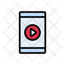 Video Mobile Play Icon