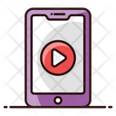 Smartphone Video Mobile Video Online Video Icon