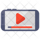 Mobile Video Online Video Play Video Icon