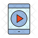 Mobile Video Smartphone Play Icon