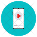 Mobile Video Video Streaming Online Video Icon