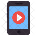 Mobile Video Play Video Media Play Icon