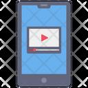 Mobile Video Video Stream Video Icon