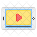 Mobile Video Music Player Online Video Icon