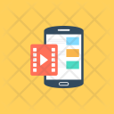 Mobile Video App Icon